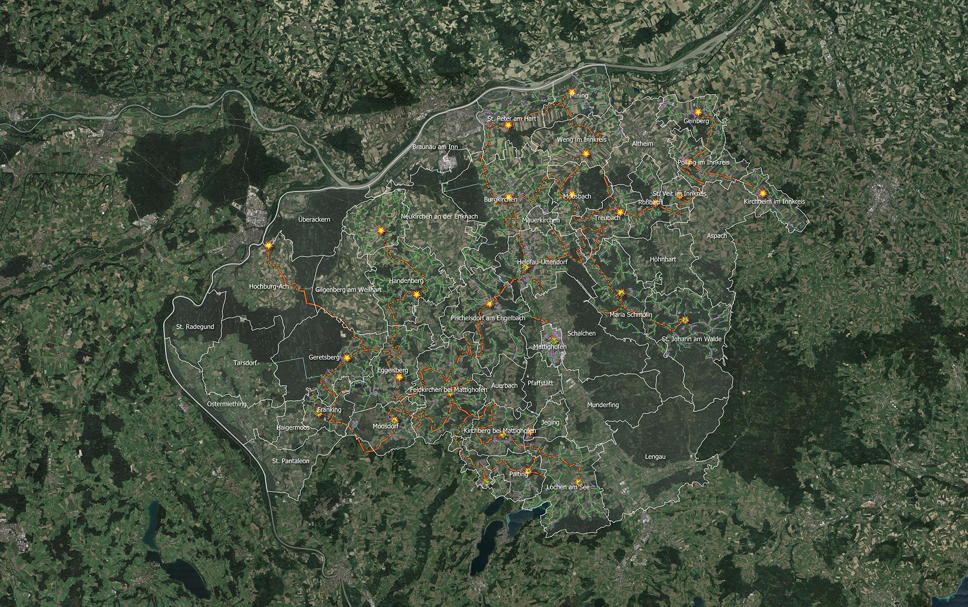 Glasfaserausbau in der Region Braunau– es geht weiter voran!